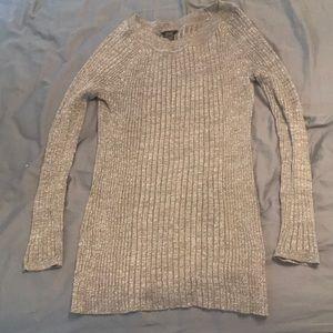 Rue 21 XL Metallic Sweater